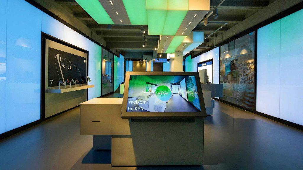 Altijd innovatief KPN retail kiest voor volledige Digital Signage