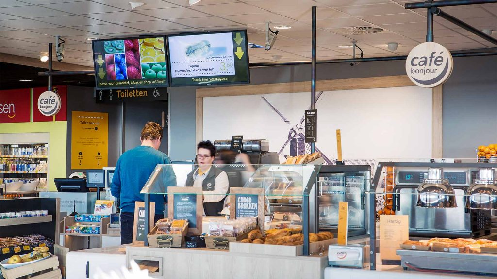 fastfood, horeca, restaurants digital signage